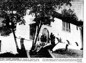 2475 Glendower, after the crime (Los Angeles Times)