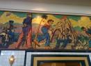 City Hell. Mural, Kenton Nelson, Pasadena. 1990