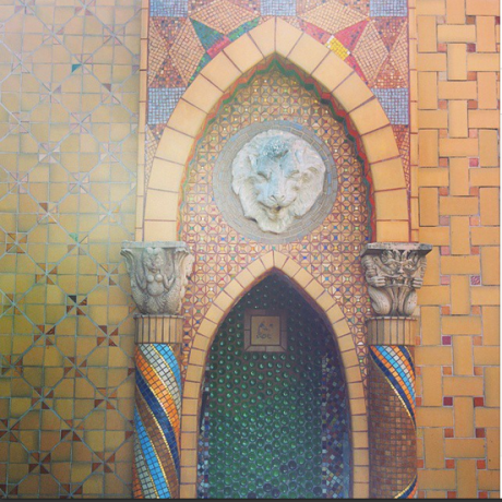 george ehling mosaic house tour - Mosaic Tile House 2015