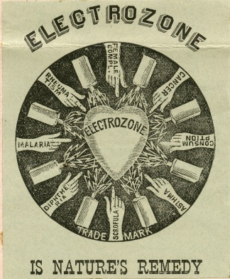 Electrozone medical compound 1890