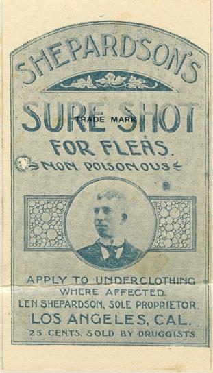 hepardson Sure Shot Flea Insecticide 1895
