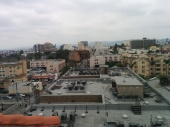 A view of the pretty next door neighbor, the Hotel Barbara / Barbizon