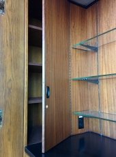 Hidden cupboard in the Norman Chandler Pavilion