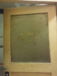 Women's Hydro-Therapy door