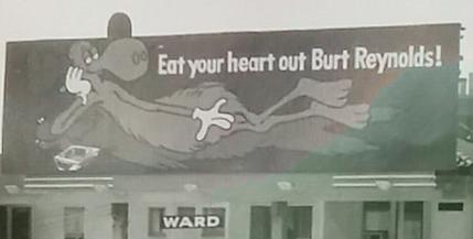 Image result for bullwinkle billboard