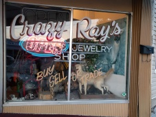 Crazy Ray's looked good, but it wasn't open. Nothing was open.