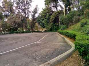 Parking Lot Where Anthony Home Once Stood