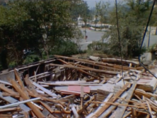 Demolition of Anthony Family House. April 1964