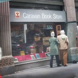 Caravan Books From The Street