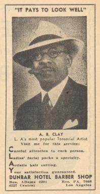 The_Official_Negro_Directory_and_Classified_Buyers_Guide_1942-1943_0084 AB Clay barber in the Dunbar Hotel