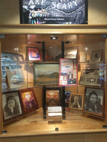 Introductory exhibit on the 2nd floor of the SDSU Library, introducing the full exhibit: 'Revisiting Visionary Utopia: Katherine Tingley's Lomaland, 1898-1942' on display in the Kenney Reading Room of the Department of Special Collections.
